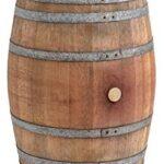 Barril mesa en madera de roble con 225 litros,...